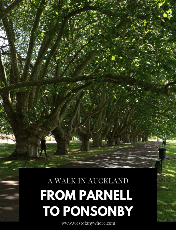A Walk in Auckland: From Parnell to Ponsonby