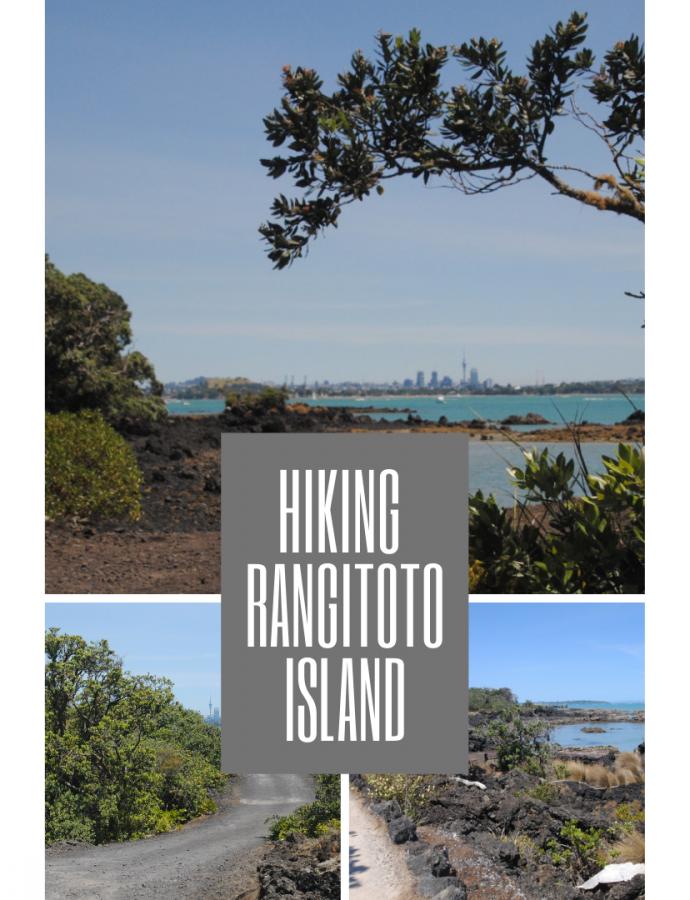 Hiking Rangitoto Island